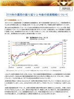 2014年の運用の振り返りと今後の投資戦略について