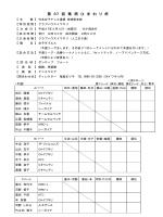 仮ドロー - 日本女子テニス連盟宮崎県支部