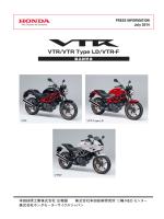 VTR/VTR Type LD/VTR-F