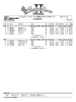 ロードスター・パーティレースⅡ 第4戦 NCクラブマン&NBシリーズ 2014