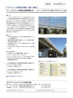 コンクリート剥落防止表面保護工法 セメンテックスRB