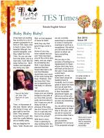 TES Newsletter Vol.24 Oct, 2014