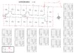 敷地面積・電柱配置図