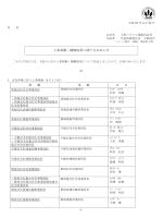 人事異動・機構改革に関するお知らせ;pdf