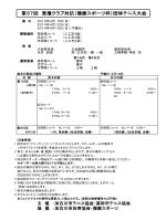 第37回 東播クラブ対抗(播磨スポーツ杯)団体;pdf