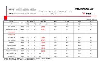 0327 日本(西)xls - NYK Container Line;pdf