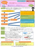 女性の再チャレンジOAスキルアップセミナー(PDF)