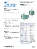 MA-900シリーズ マイクロフロ―メータ