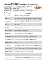 Soup Stock Tokyo 主要原材料の原産地情報
