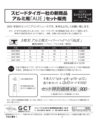 AUE - 株式会社GCT