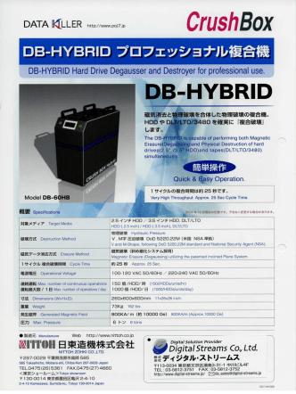 Crush Box DB-60HB