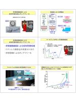 荷重振動による成形荷重低減とボンデフリー化