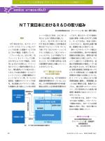 NTT東日本におけるR&Dの取り組み