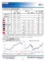 リート・ウィークリーレポート(2014/12/24)