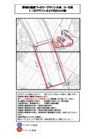 野洲川健康ファミリーマラソン大会 コース図 G G