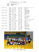 男子ダブルス1部 優 勝 坂中 史幸 馬渡 倫幸 島原クラブ/clubVIN 準優勝 森