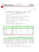 3月 スケジュール変更のお知らせ② - NYK Container Line