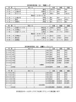 春のスイートポテトカップの試合スケジュール