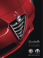 Giulietta PDFカタログ