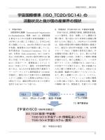 宇宙国際標準(ISO_TC20/SC14)の 活動状況と我が国の産業界の現状