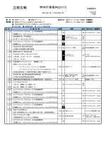 立教広報 - 立教大学