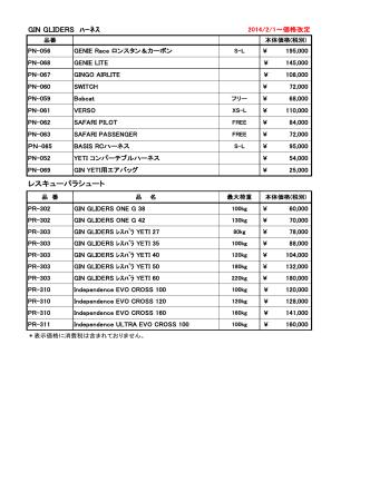 2014 価格表小物類 PDF