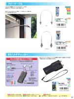 フリーケーブル・BS/UHFチェッカー (p.34)