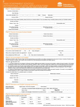 Application Form (Japanese)
