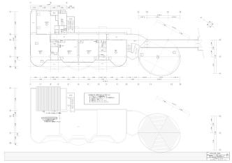 A-02 建築 2・RF平面図