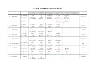 2014_茨城県リーグ競技日程