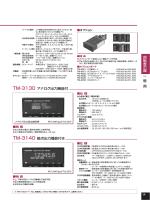 回転表示器 一 般 用 TM-3130 アナログ出力機能付 TM-3140