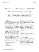 階層的フレーズベース翻訳におけるピボット翻訳手法