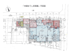 「本郷ゆうし保育園」平面図
