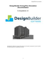 DesignBuilder EnergyPlus Simulation Documentation