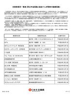 全喪事業所一覧表(厚生年金保険と協会けんぽ管掌の
