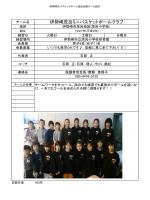 伊勢崎茂呂ミニバスケットボールクラブ