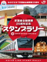 京葉線全線開業25周年記念スタンプラリー