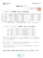 最新の検査結果 - 日本かきセンター