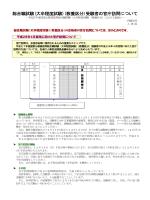 総合職試験(大卒程度試験)(教養区分)受験者の官庁訪問について