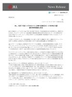 News Release - ジョーンズ ラング ラサール