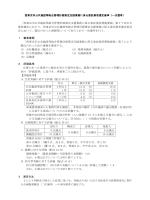 「西東京市公共施設等総合管理計画策定支援業務に係る委託業者募集