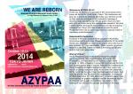 プログラム - azypaa 2014