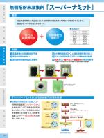 無機系粉末凝集剤 「スーパーナミット」