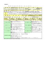 【美容学科】職業実践専門課程申請書 別紙様式4