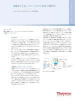 IC14008 溶離液ジェネレーターシステムを用いた糖分析