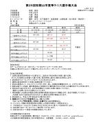 実施要項 - 和歌山市テニス協会