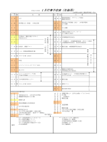 1月 - 県立米沢工業高等学校