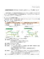 北陸新幹線延伸に伴うおトクなきっぷのリニューアル等について