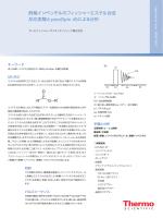 酢酸イソペンチルのフィッシャーエステル合成反応とpicoSpin 45による分析