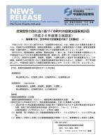 産業競争力強化法に基づく市町村の創業支援事業